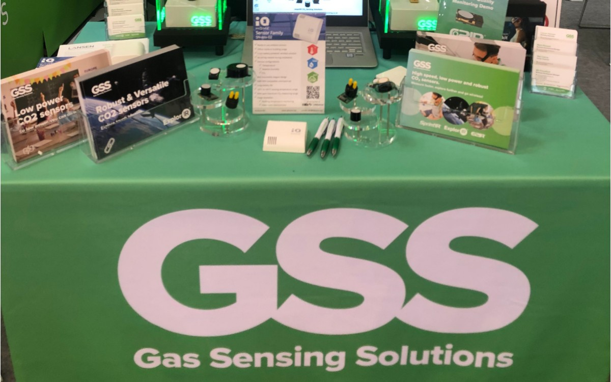SN-THC-02 Sensor at SENSOR+TEST 2019 Exhibition in Nuremberg