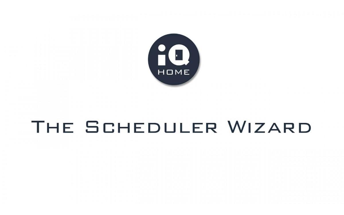 The Scheduler Wizard