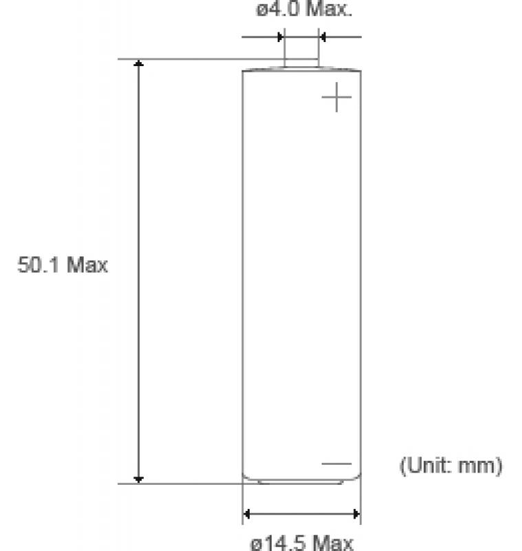 Lithium Battery 3,6V 2,4Ah AA [XL-060F]