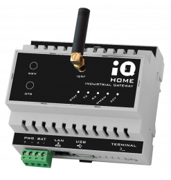 Industrial Gateway with Ethernet connection [GW-IND-01-POE]