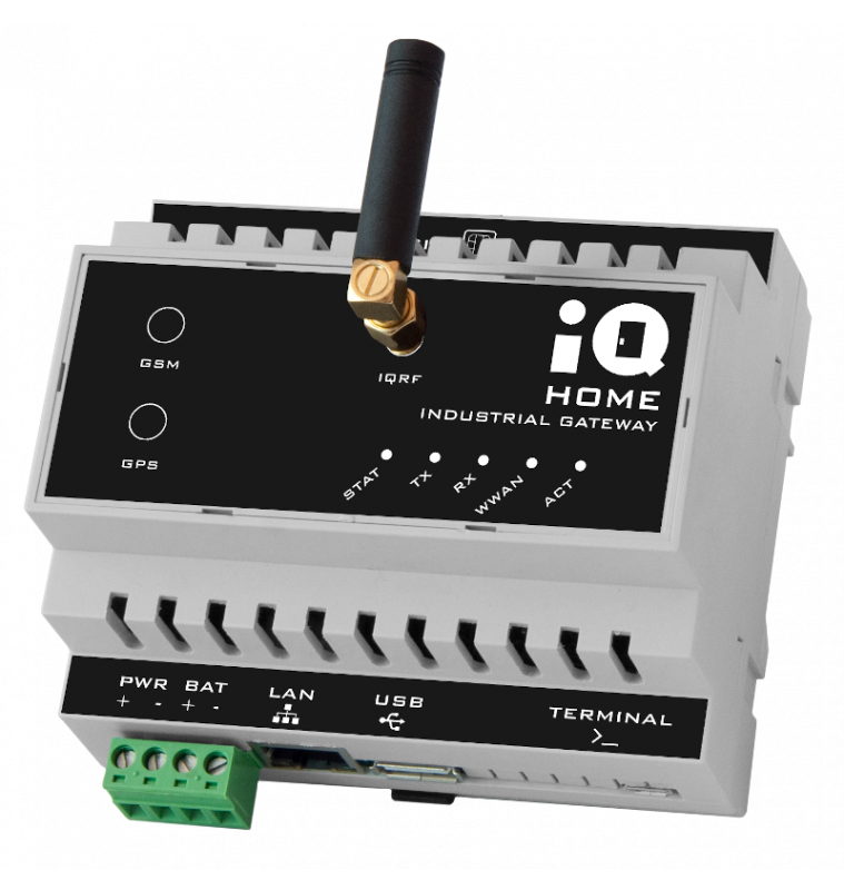 Industrial Gateway with Ethernet PoE connection [GW-IND-01-PoE]